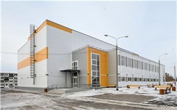 В Емельяновском районе построили новый спортивный комплекс