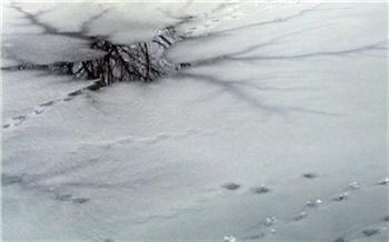 Два человека провалились под лед на Красноярском водохранилище