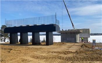 Министр транспорта Красноярского края показал, как идет строительство нового моста через Енисей