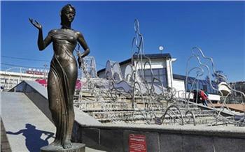 В Красноярске начали расконсервировать фонтаны: запустят не все
