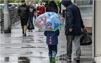 Красноярцам пообещали дождливую и пасмурную неделю