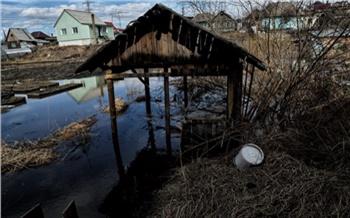Из-за паводка в двух районах Красноярского края ввели режим повышенной готовности