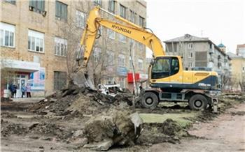 Подрядчик всё демонтировал, а о людях не подумал: мэр Красноярска пообещал разобраться с пешеходным проходом на месте ремонта сквера Маяковского