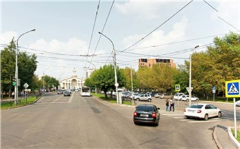 В Красноярске 4 июня заработает новая схема движения в районе автовокзала