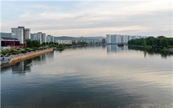 Уровень воды в Енисее за сутки увеличился на 8,4 см