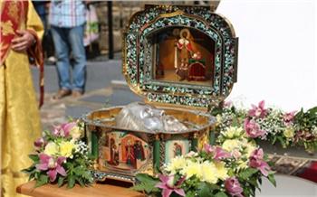 На этой неделе в Красноярск привезут мощи князя Александра Невского