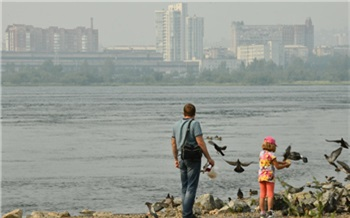 В первый день черного неба в Красноярске и Ачинске не нашли вредных примесей в воздухе