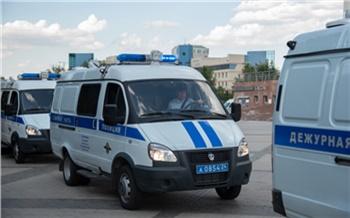 Красноярские полицейские получили еще 50 новых служебных автомобилей