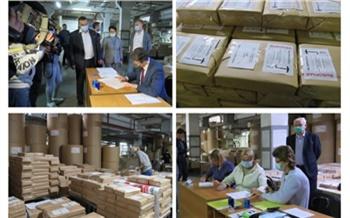 Длина до 60 см: в Красноярском крае изготовили избирательные бюллетени для выборов