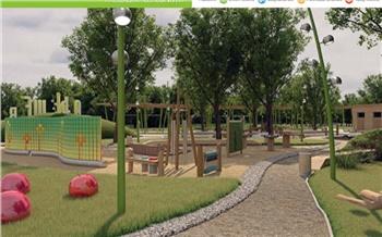На Татышеве появится новая детская площадка