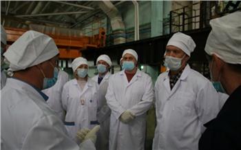 На красноярском ГХК провели экскурсию по объектам предприятия