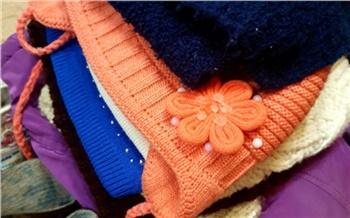 В Богучанском районе собрали теплые вещи для детей из малообеспеченных семей
