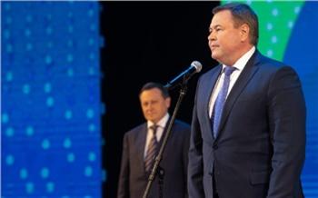 Дмитрий Свиридов поздравил СибГУ имени академика Решетнева с двойным юбилеем