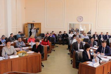 Заседание совета депутатов, доклад главы о результатах деятельности за минувший год