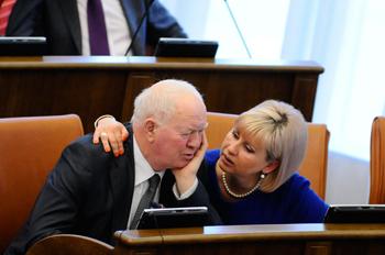 Марине Добровольской будет очень не хватать Анатолия Ромашова