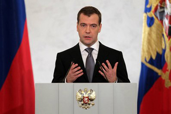 Президент напомнил, что Россия при нем успела стать шестой экономикой мира
