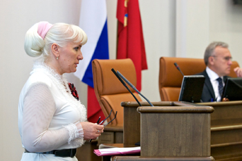 Татьяна Давыденко. Фото с сайта ЗС края. Автор – Бурмистров А. В.