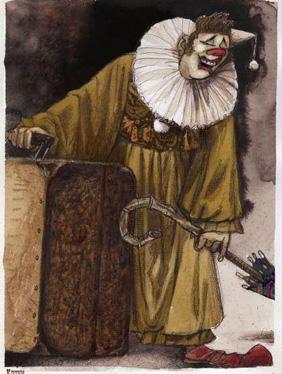 Эскиз клоуна