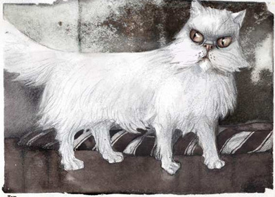 Эскиз кота