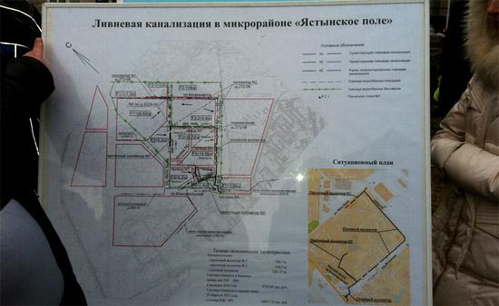 План ливневой канализации