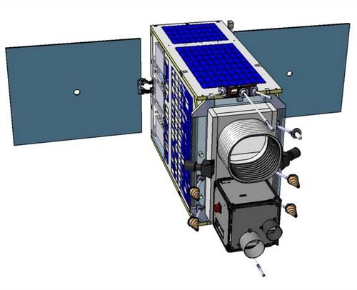 Макет МКА на базе платформы НТ-100