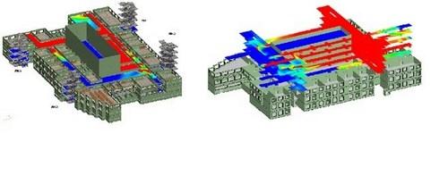Один из реализованных проектов компании «ЗК-Эксперт» — план эвакуации в здании Института нефти и газа СФУ