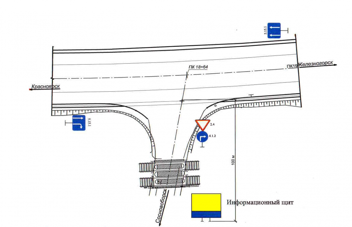 Железногорск красноярский край схемы движения автобусов