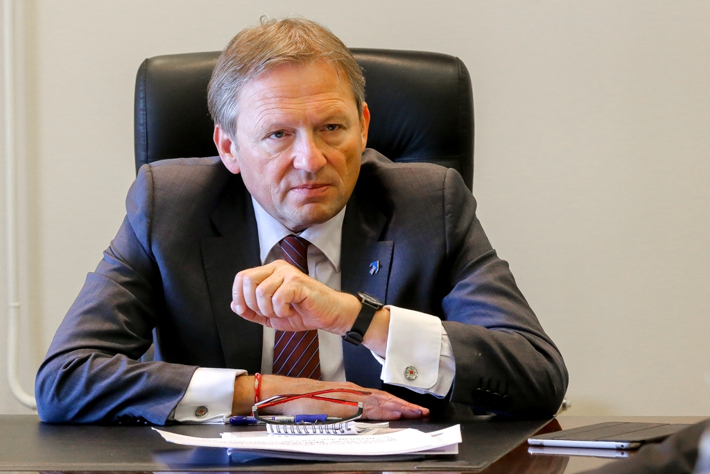 Красноярск посетил федеральный бизнес-омбудсмен Борис Титов
