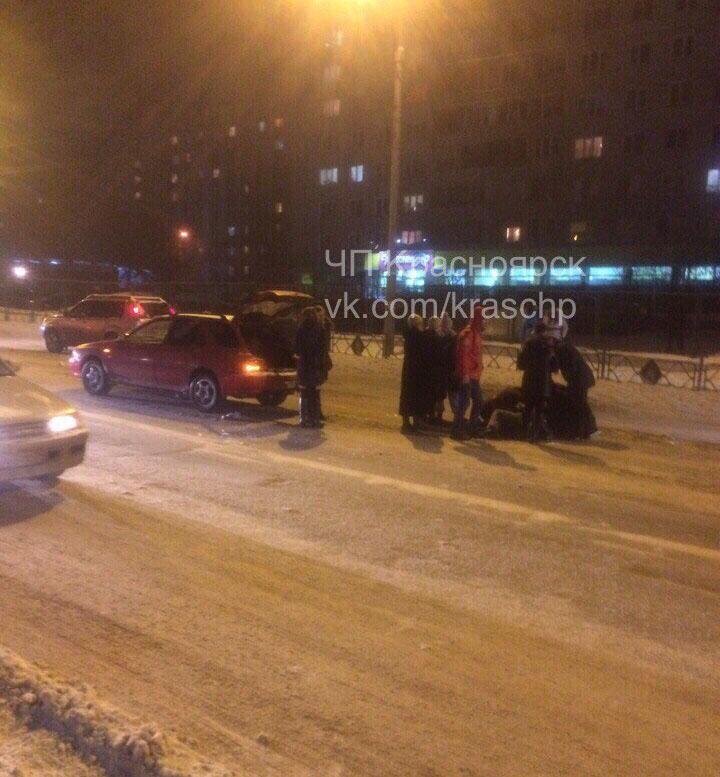Субару строго сбил идущего по«зебре» пешехода наКецховели