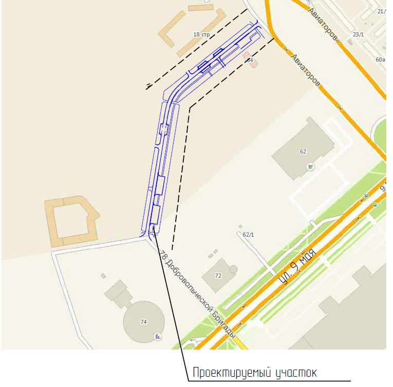 Дорожники приступили кстроительству новоиспеченной городской дороги