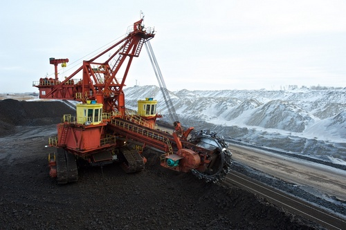 Добыча угля на Переясловском разрезе