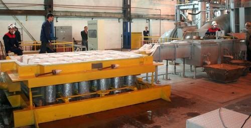 Литейное производство на красноярском заводе «Сегал»