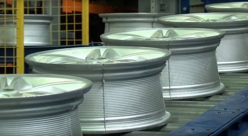 Производство литых дисков на красноярском заводе SKAD