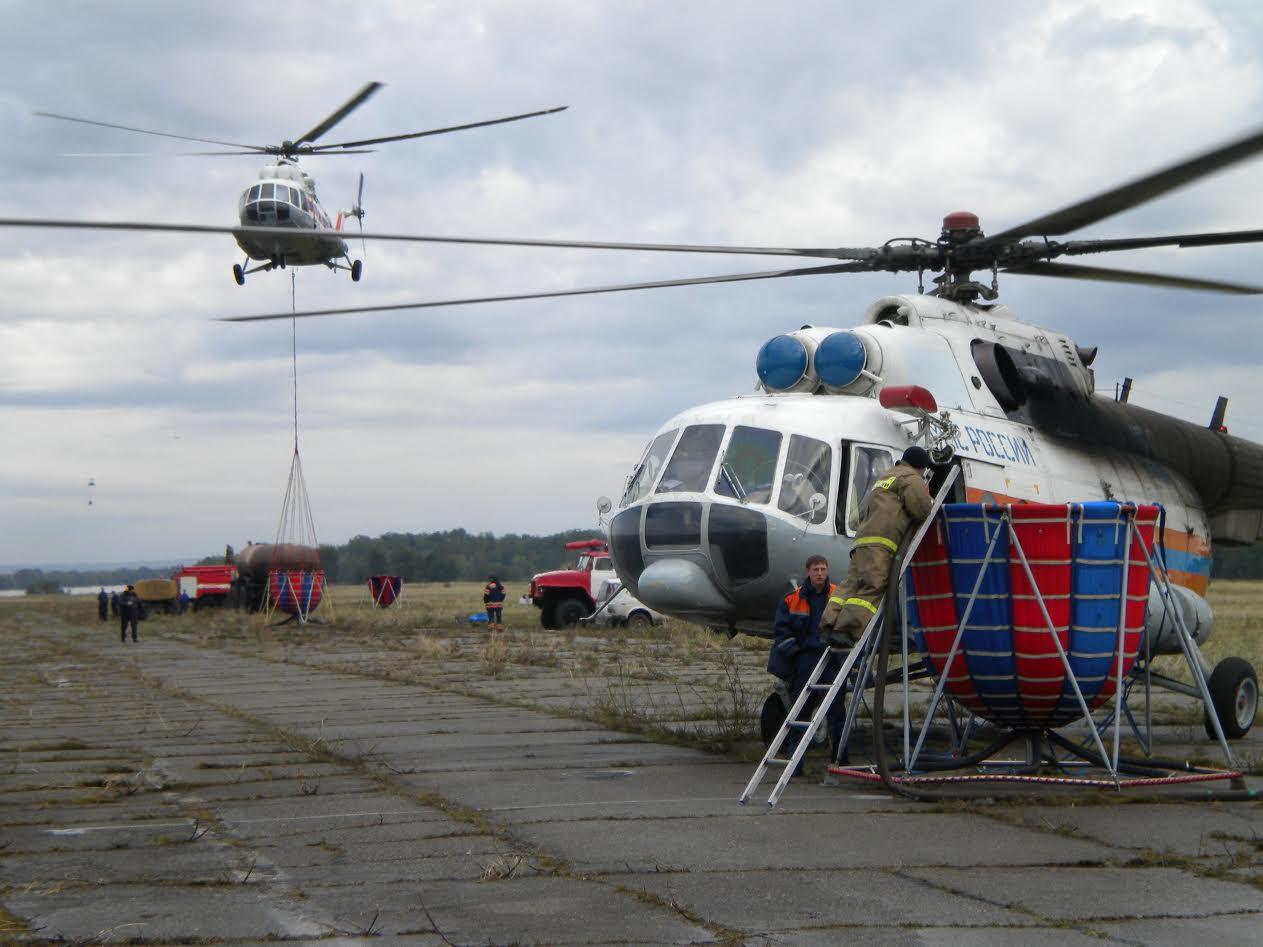 Вдеревне под Красноярском загорелись 14 домов