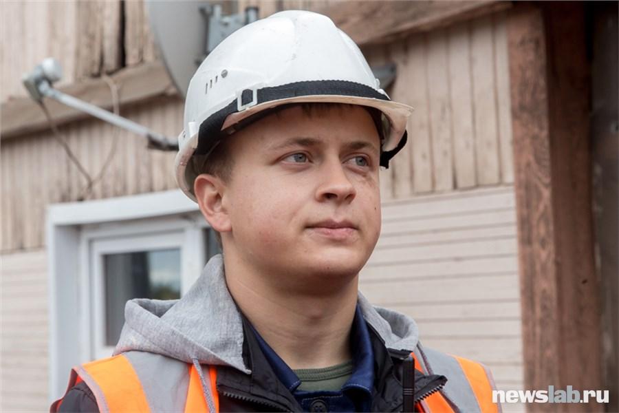 Работа для настоящих мужчин Переясловский разрез в лицах  Контрольный мастер ОТК Егор Босый