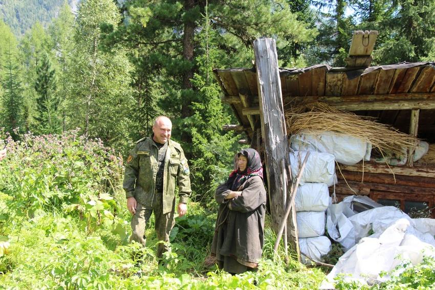 Агафья Лыкова написала губернатору Кемеровской области письмо