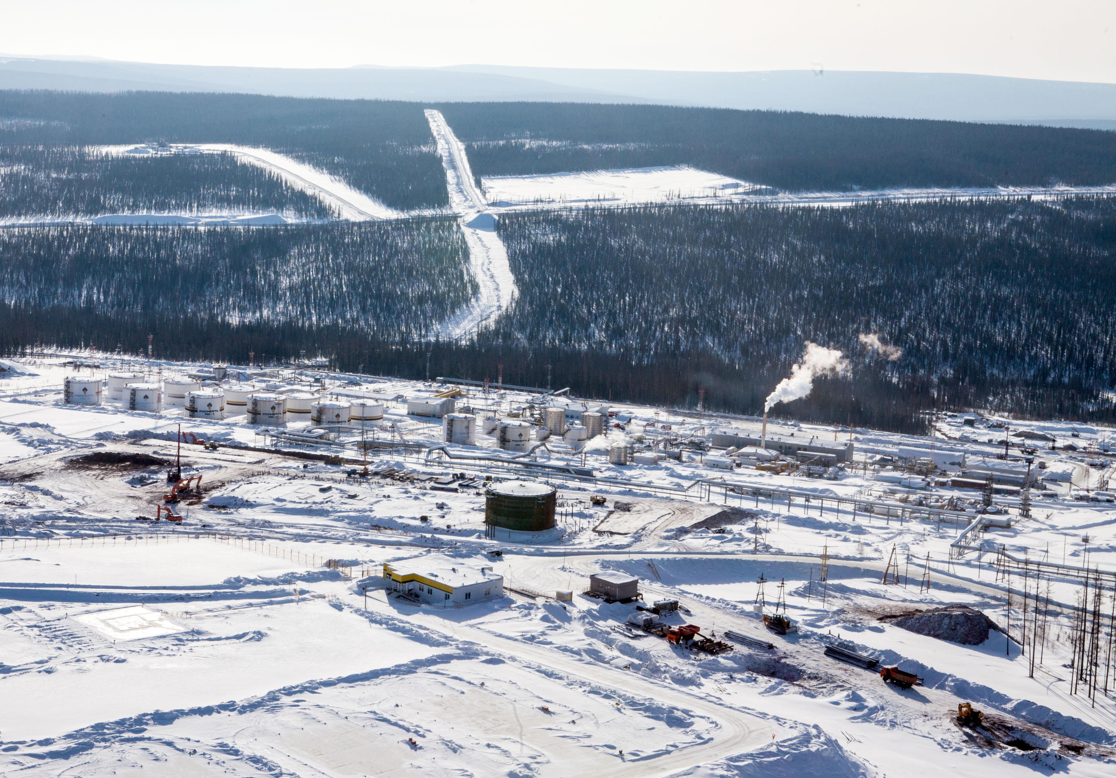 НаВосточно-Мессояхском месторождении добыт 1-ый млн. тонн нефти