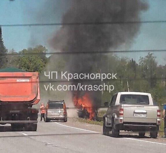 Под Красноярском вДТП погибли 5 человек