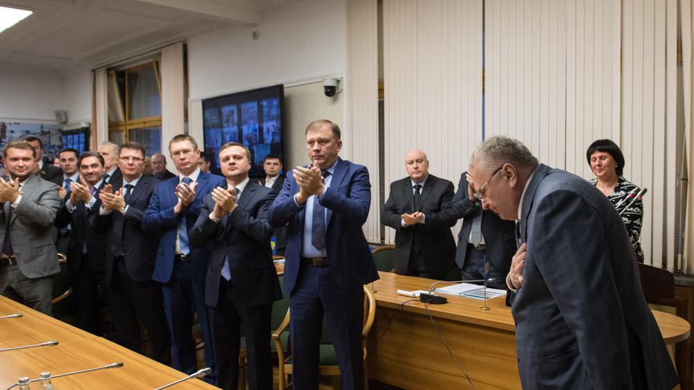 ЛДПР выдвинула Владимира Жириновского впрезиденты РФ