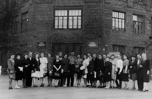 Перед госэкзаменами, 1948 год
