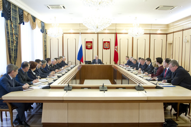 Александр Усс обозначил задачи перед кабинетом министров