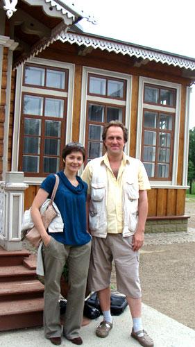 Я со Светой Михеевой