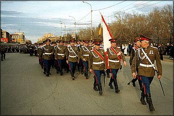 Красноярские казаки