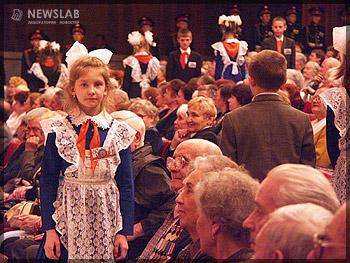 Торжественное собрание и праздничный концерт, посвященный 60-летию Победы в Великой Отечественной войне в БКЗ