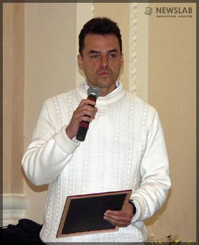 Лауреат конкурса в номинации «Проза» Евгений Мамонтов