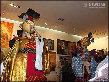 Театрализованное шоу в стиле китайских традиций