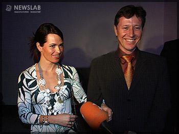 Ольга Пылева вместе со своим супругом Валерием Медведцевым