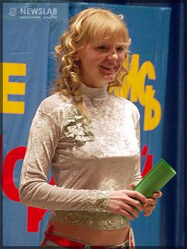 Первое место завоевала Алиса Жилкина