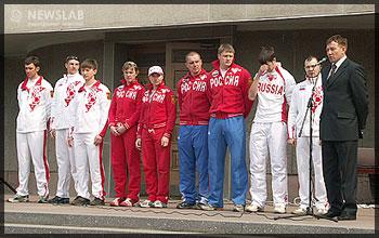 Красноярские олимпийцы, участники Туринской олимпиады
