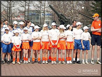 Участники детских олимпийских игр